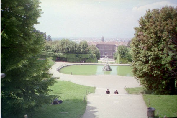 Florence - view from Boboli Gardens