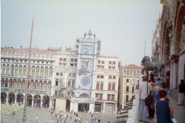 Venice - Bell Tower from Duomo