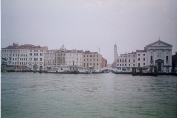 Venice - View From Boat