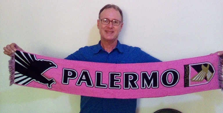 Palermo football banner