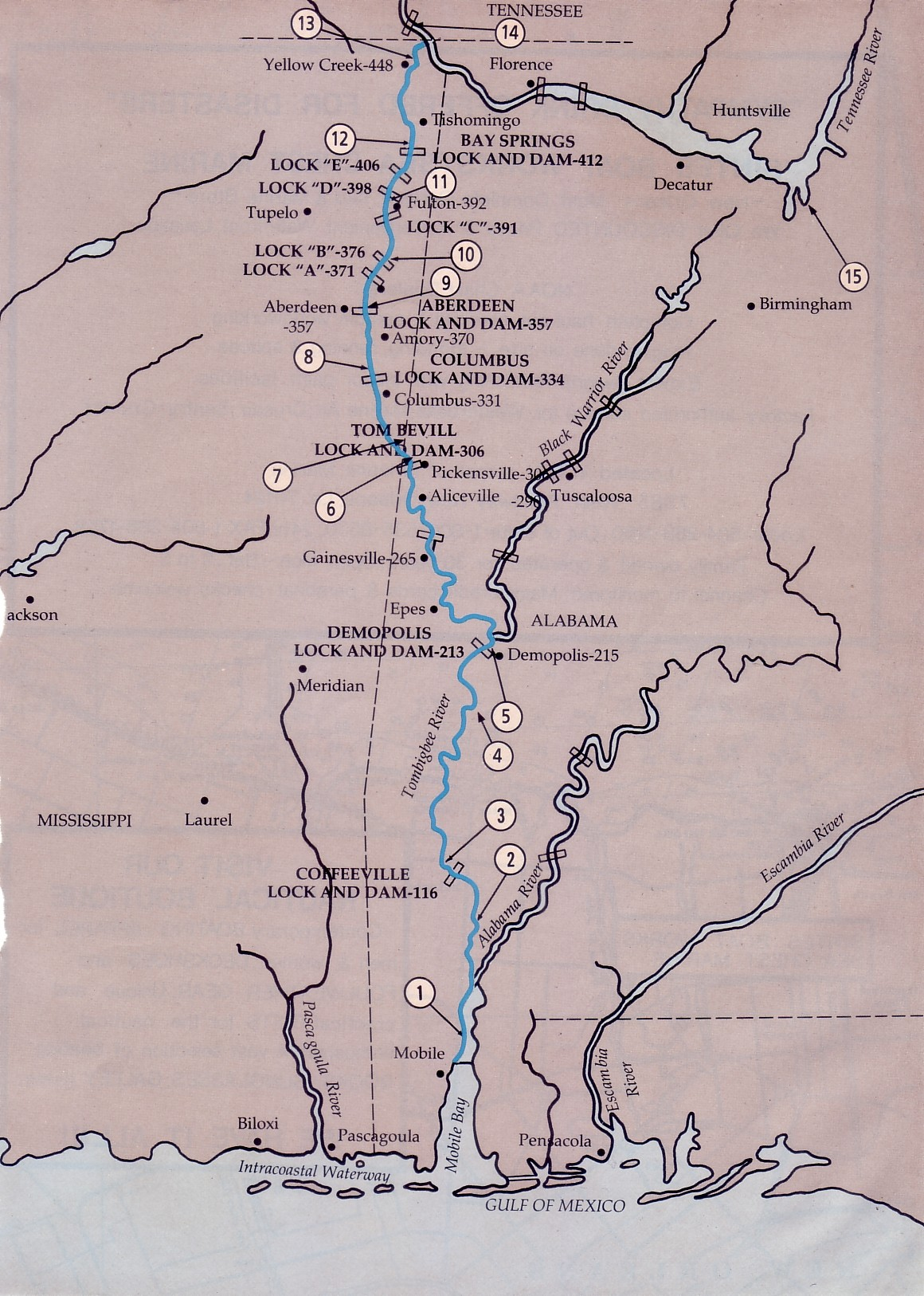 Inland Rivers In The Usa