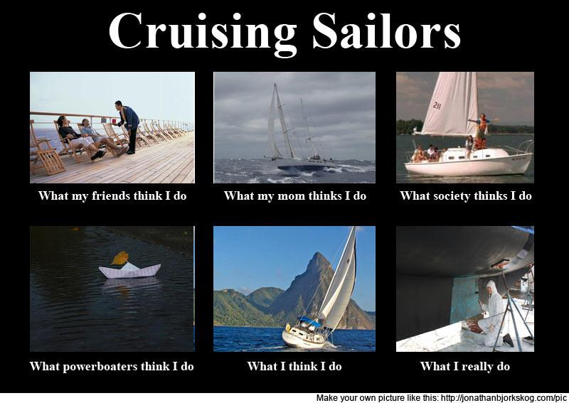 Cruising sailors