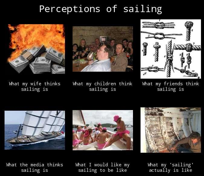 Perceptions of sailing